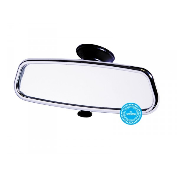 Rear View Suction Mirror – Chrome Effect – Dipping