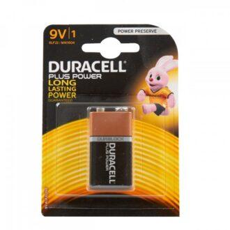 Plus Power Alkaline 9V Battery