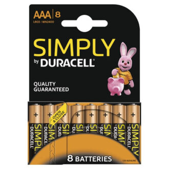 Simply AAA Batteries – Pack of 8