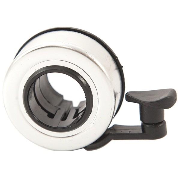 Handlebar Cycle Bell – Silver