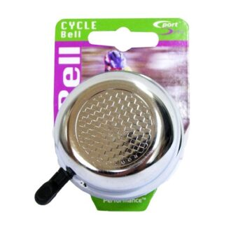Alloy Cycle Bell – Silver