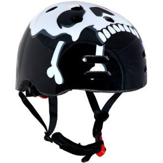 The Skull™ Black BMX Helmet 56-58cm