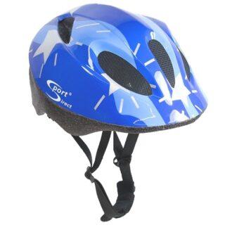 Silver Stars™ Junior Blue Cycle Helmet 48-52cm