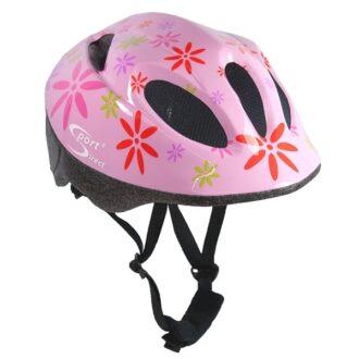 Pink Flower™ Junior Pink Cycle Helmet 48-52cm