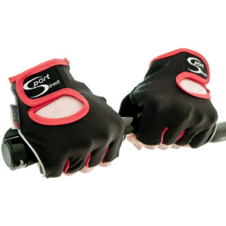 Cycle Track Mitts – Black/Red – Medium