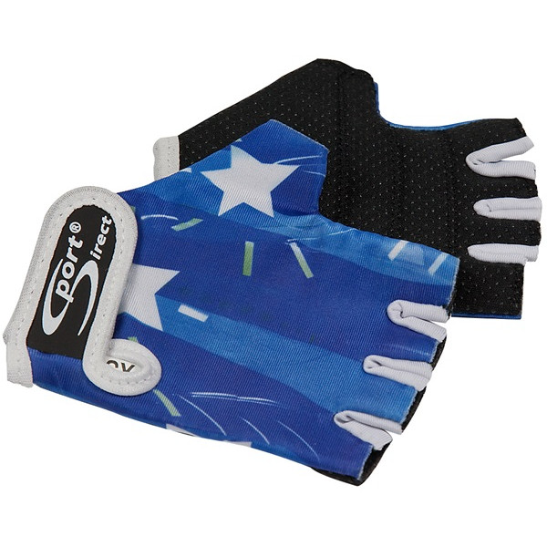Junior Cycle Track Mitts – Blue – Extra Small
