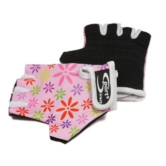 Junior Cycle Track Mitts – Pink – Extra Small
