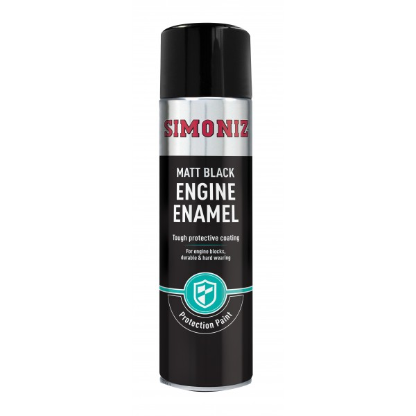 Black Matt Engine Enamel – 500ml