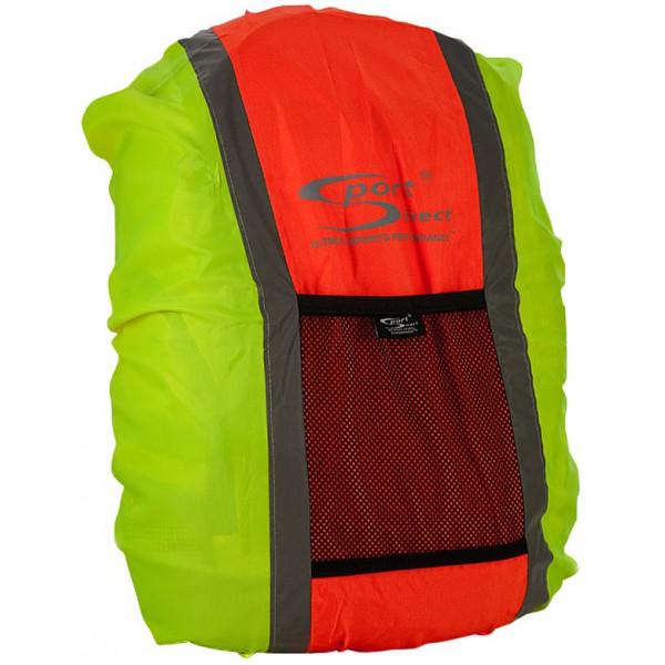 Hi-Vis Reflective Rucksack Cover – Yellow & Orange