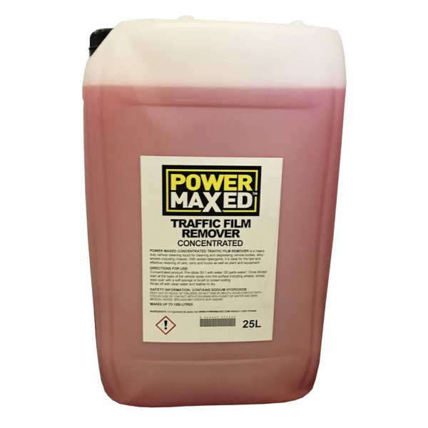 Power Maxed Traffic Film Remover – 25 Litre Concentrate