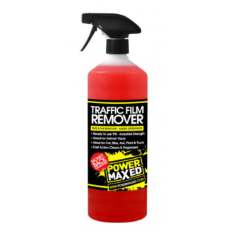 Power Maxed Traffic Film Remover – 1 Litre Ready To Use
