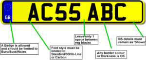 Vehicle Car Number Show Plates for sale
