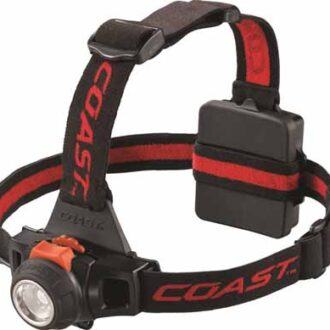DIMMABLE/FOCUSING HEAD TORCH 330 LUMENS