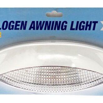 MAYPOLE AWNING LIGHT WITH HALOGEN BULB WHITE