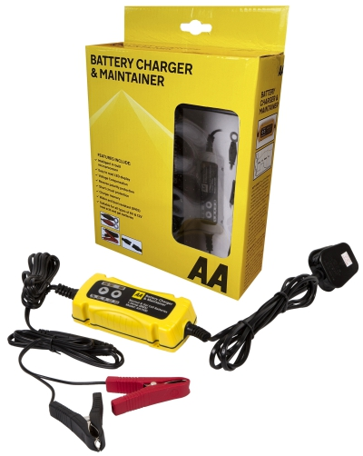 AA BATTERY CHARGER AND MAINTAINER