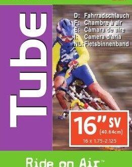 INNER TUBE 16 X 1.75 -2.125