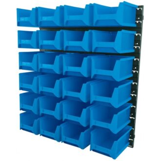 24 Bin Wall Storage Unit – Large Bins