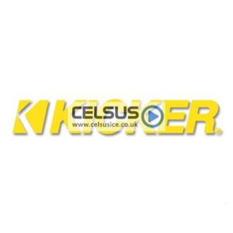 Kicker Logo Decal – Yellow – 11″