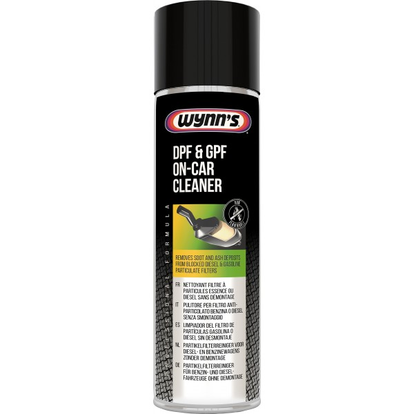 DPF & GPF On-Car Cleaner for Diesel & Petrol Particulate Filters
