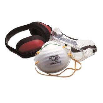 Ear, Eye & Mouth Safety Kit – 3 Piece