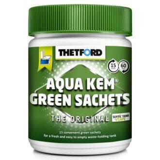 Aqua Kem Green Toilet Sachets – Can of 15