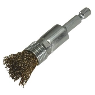 End Brush With Quick Chuck – 15mm