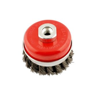 Crimped Brush – Cup Type – 75mm x M14