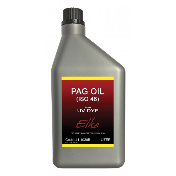 R134a Pag46 Oil with dye – 1 Litre