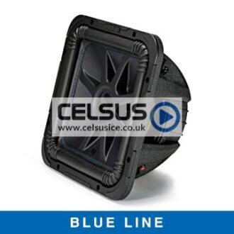 Solo-Baric L7S 12″ Square Dual Voice Coil Subwoofer – 2 Ohm