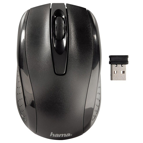 3 Button/Scrolling Optical Mouse – Wireless
