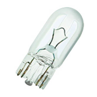 Osram 501 Capless Wedge Bulb Clear – Side Light / Indicator