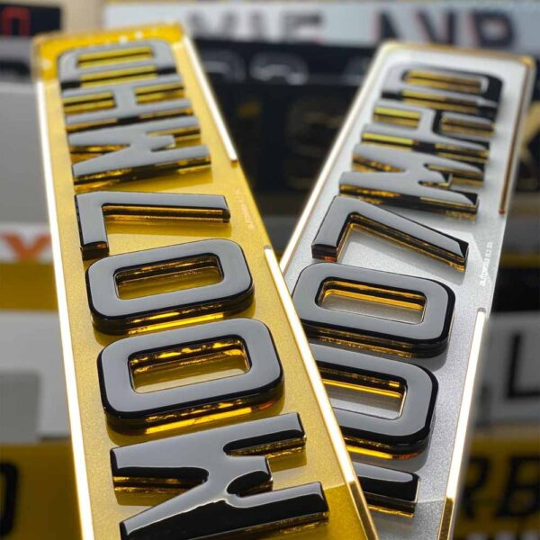 4D Honey Oreo Gel W/ 4D Gold Border