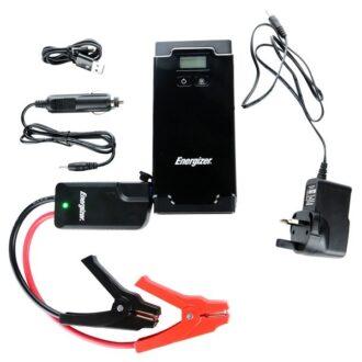 Lithium-Ion Polymer Car Jump Starter & Power Bank – LCD Display – 500A/ 12000mAh