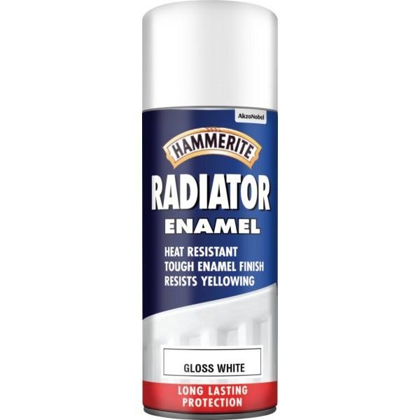 Radiator Aerosol Paint – Gloss White – 400ml