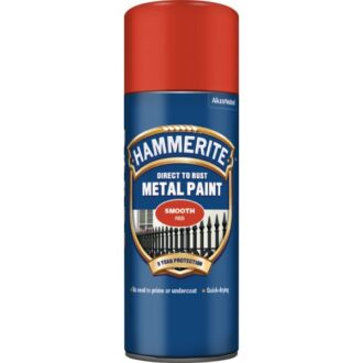 Direct To Rust Metal Paint – Smooth Yellow – 400ml