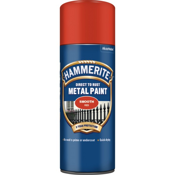 Direct To Rust Metal Paint – Smooth Red – 400ml