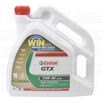 Castrol GTX Engine Oil – 15W-40 – 4ltr