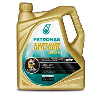 Petronas Syntium 3000 E Engine Oil – 5W-40 – 4ltr