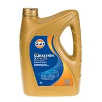 Gulf Ultrasynth X Engine Oil – 0W-20 – 4ltr
