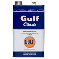 Gulf Classic Engine Oil – SAE30 – 5ltr