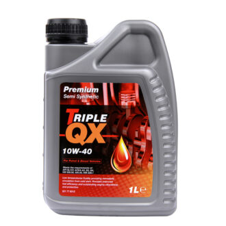 TRIPLE QX Semi Synthetic Engine Oil – 10W-40 – 1ltr