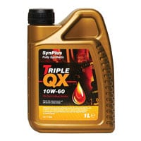 TRIPLE QX Synplus Fully Synthetic Engine Oil – 10W-60 – 1ltr