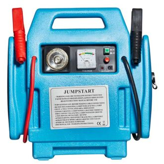 Top Tech 3-IN-1 12V Booster Pack with Air Compressor