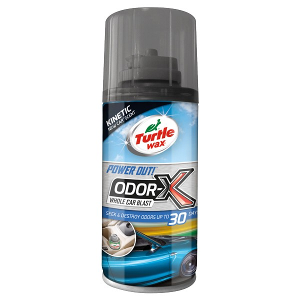 Power Out! – Odor-X Whole Car Blast – Kinetic New Car Scent – 100ml