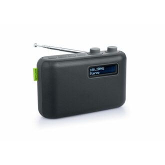 Muse DAB/DAB+ Portable Radio Black LCD Display With Backlight
