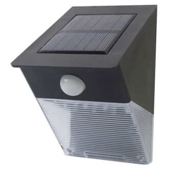Am-Tech 12 LED Solar Security Light With PIR Sensor