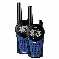 Cobra MT975 Walkie Talkie Twin Pack including batteries and mains charger