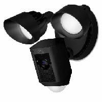 Ring Flood Light Cam Black