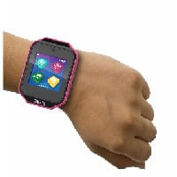 childrens smartwatch in pink