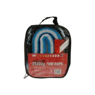 Elasticated Tow Rope – 1.5 to 4m – 2500kg